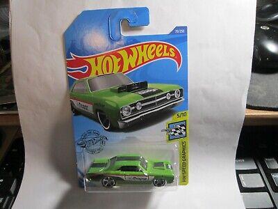 '68 Dodge Dart #70 Green Speed Graphics 5/10 2020 Hot Wheels Case C