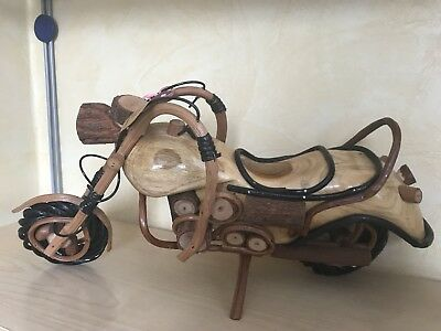 Handmade motorcycle