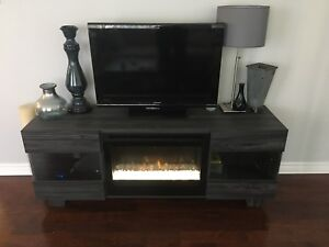 TV unit with «  fireplace »