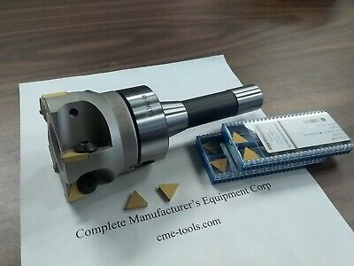 3 90 Degree Indexable Face Shell Millr8 Shank20 Extra Tpg322 Inserts 506-fmt
