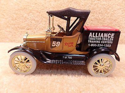 1988 Ertl 1 25 Scale Diecast Robert Pressley Alliance 1918 Model T Runabout Bank