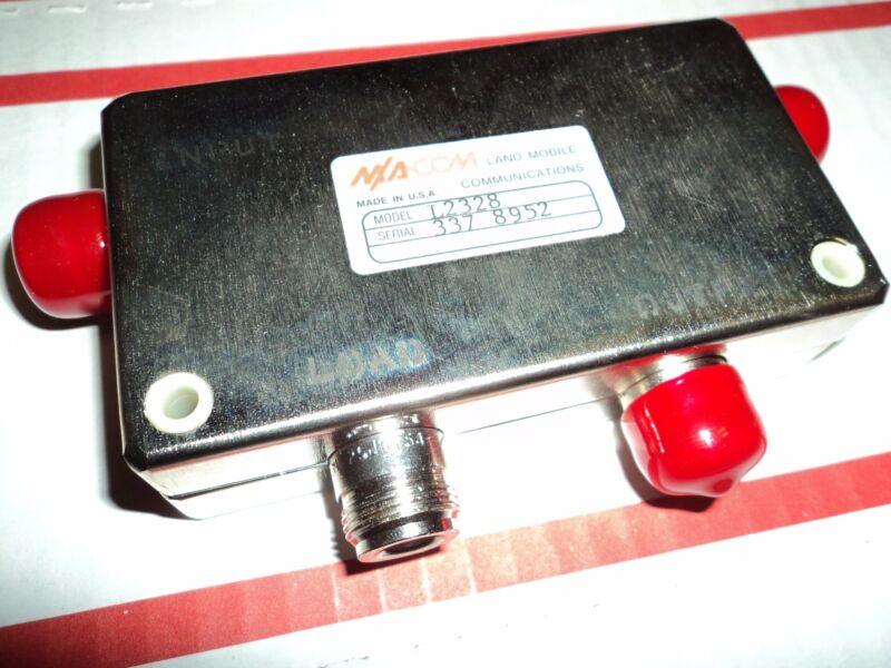 NEW Isolator UHF 806 - 930 MHZ M/A-COM L2328 ~ 800 MHZ 200 Watt CIRCULATOR