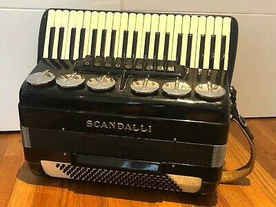 Scandalli Accordion Vintage  M 765/54 BREVETTO