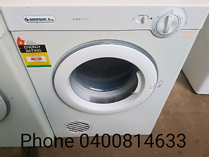 Simpson 4kg Dryer Rosebery Palmerston Area Preview