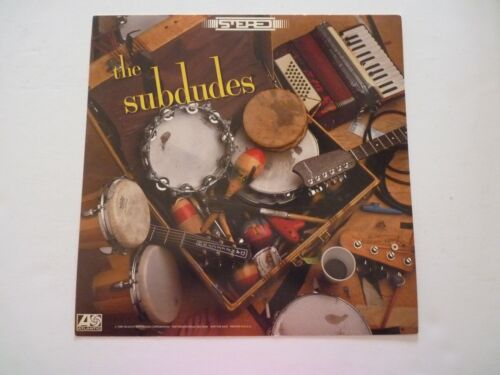 The Subdudes LP Record Photo Flat 12X12 Poster