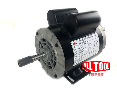 2 Hp Spl 3450 Rpm 56 Frame 120240v 157.5amp 58 Shaft Single Phase Nema Motor