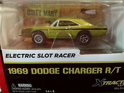 AUTO WORLD ~ '69 Dodge Charger R/T ~ Dirty Larry Crazy Mary ~ Fits AW, AFX, JL