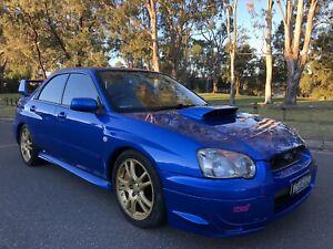 2003 Subaru Impreza Wrx STi AWD Turbo Log Books Service History Blue