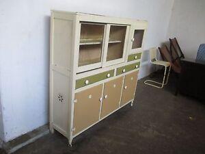 C32057 Vintage RETRO Oak Painted Kitchen Cabinet Dresser Mount Barker Mount Barker Area Preview