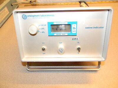 Orbisphere Laboratories Ozone Indicator Model 26504 Without Probe