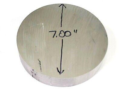 7.00 Diameter Aluminum 6061 Round Rod 2.00 Long T6511 Solid Lathe Bar Stock