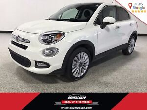 2016 Fiat 500X Lounge FWD, LEATHER, Financing Available!!!