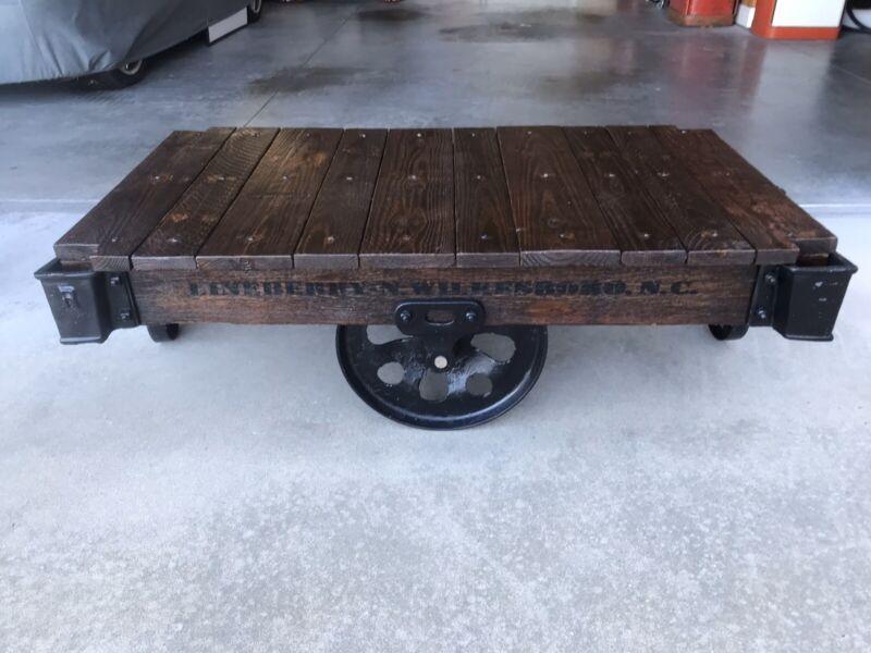 Lineberry Factory Cart