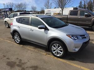 2013 Toyota RAV4 Limited AWD ( command start )