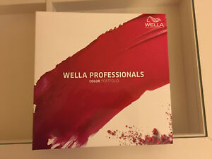 Wella Professionals Color Portfolio Swatch Book