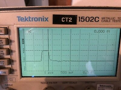 Tektronix Model 1502c Metallic Tdr Cable Tester