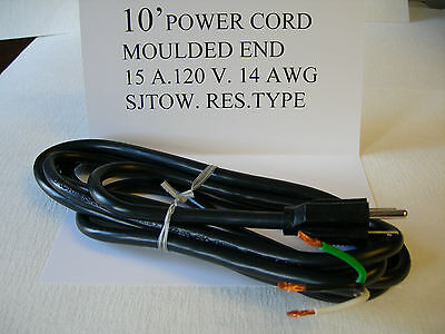 10 Power Cord Set 15 Amp Fits Broaster Pressure Fryer And Henny Penny Fryer