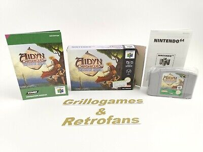 """Nintendo 64 Spiel """" Aidyn Chronicles The First Mage """" N64 