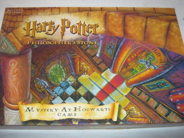Harry Potter Mystery at Hogwarts Board Game Philosophers Stone Complete