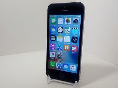 Apple iPhone 5s - 16GB - Space Gray (AT&T/GSM Unlocked) Smartphone Clean ESN F9