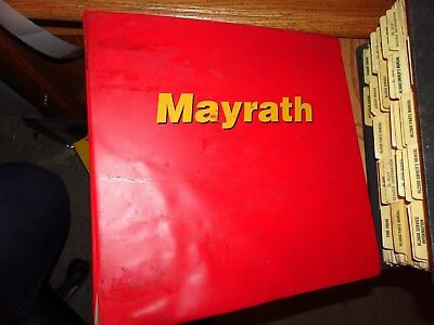 Genuine Mayrath Parts Manual  Covers All Augers Bin Equipment And Conveyors