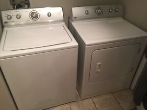 Washer & dryer in good condition
