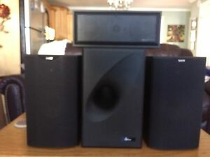 Stereo system speakers