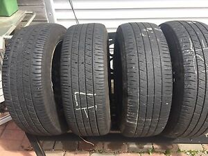 Goodyear P205/55R16 tires w/ stock 2013 ford focus steel wheels