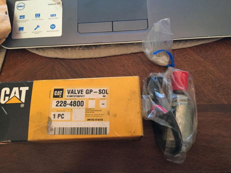 new CAT solenoid control valve part # 228-4800