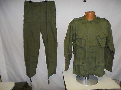vnj(L) Vietnam US OD 1st Model Jungle Fatigue Set (Large) W4B