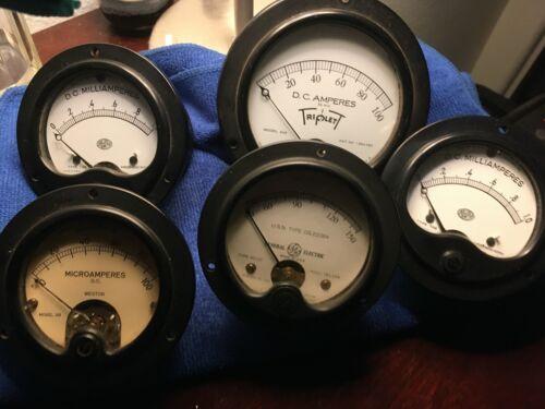 Tester / Meter / Panel Gauges - Triplett Weston Roller Smith - mA/Micro/MilliAmp