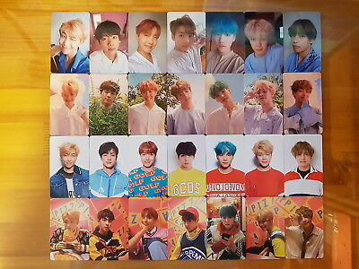 BTS Bangtan Boys Album LOVE YOURSELF DNA PhotoCard Full SET Official K-POP