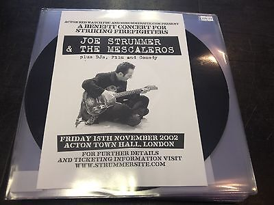 JOE STRUMMER & THE MESCALEROS - FRIDAY 15TH NOVEMBER 2002 ACTON TOWN HALL 2-LP