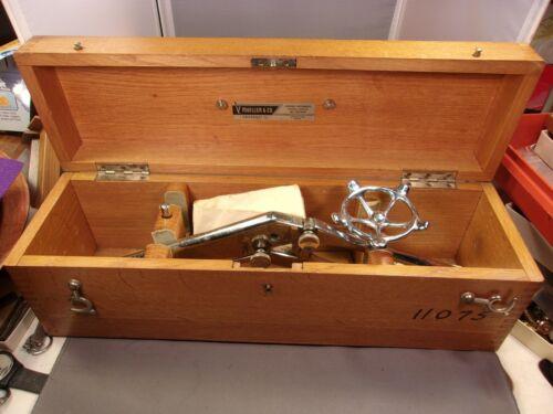 VERY RARE VTG ANTIQUE MEDICAL BOX / KIT - GASTRO-INTESTINAL SUTURING APPARATUS