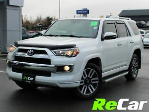 2018 Toyota 4Runner LIMITED | HEATED/COOLED LEATHER | SAVE $9...