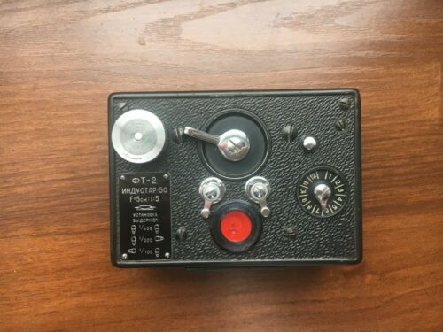HORIZONT FT-2 industar-50 Soviet Panoramic Camera & Case