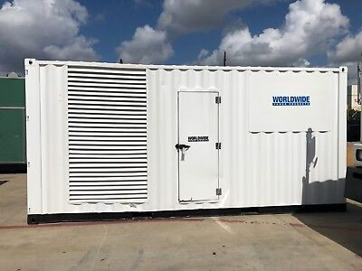 Cummins Qst30-g5 Diesel Generator Set - 800 Kw - 480v - Sa Enclosed