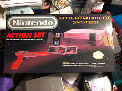 Vintage Nintendo Entertainment System Action Set Box Only