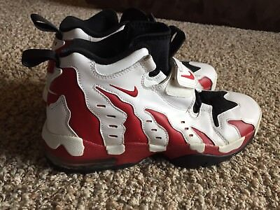 New NIKE AIR DT MAX 96 Deion Sanders white / red size 10.5 ONLY 1 ON EBAY rare