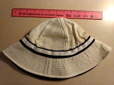 1950s Mens Hats | 50s Vintage Men's Hats Rare 1950s Slazenger Cotton Twill Tennis Hat with Vents, Men's Size L $35.00 AT vintagedancer.com
