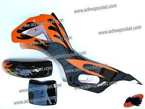 car nage noir orange pocket bike cross 47 49cc ebay. Black Bedroom Furniture Sets. Home Design Ideas