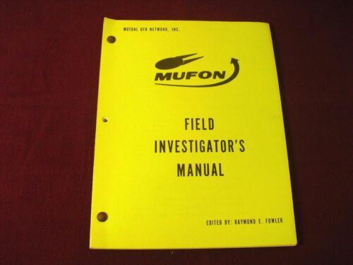 Mufon ~ UFO Field Investigator