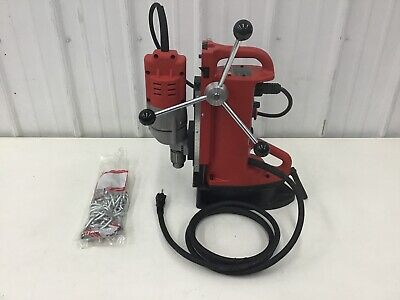 Milwaukee - 4204-1 Magnetic Drill Press 120v Ac 12 In Capacity Steel 600 Rpm