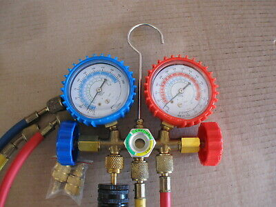 Refrigeration Manifold And Gauges For R410ar22r404a Flaring Tools And Cutter