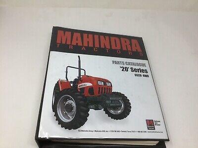 MAHINDRA ORIGINAL 6520 4WD TRACTORS PARTS CATALOG MANUAL w/ BINDER (Original Wd Part)