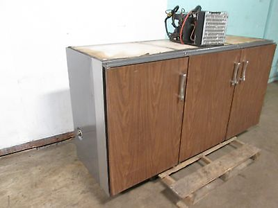 Perlick H.d. Commercial 72w 3 Doors Back Bar Bottle Cooler Wremote Condenser