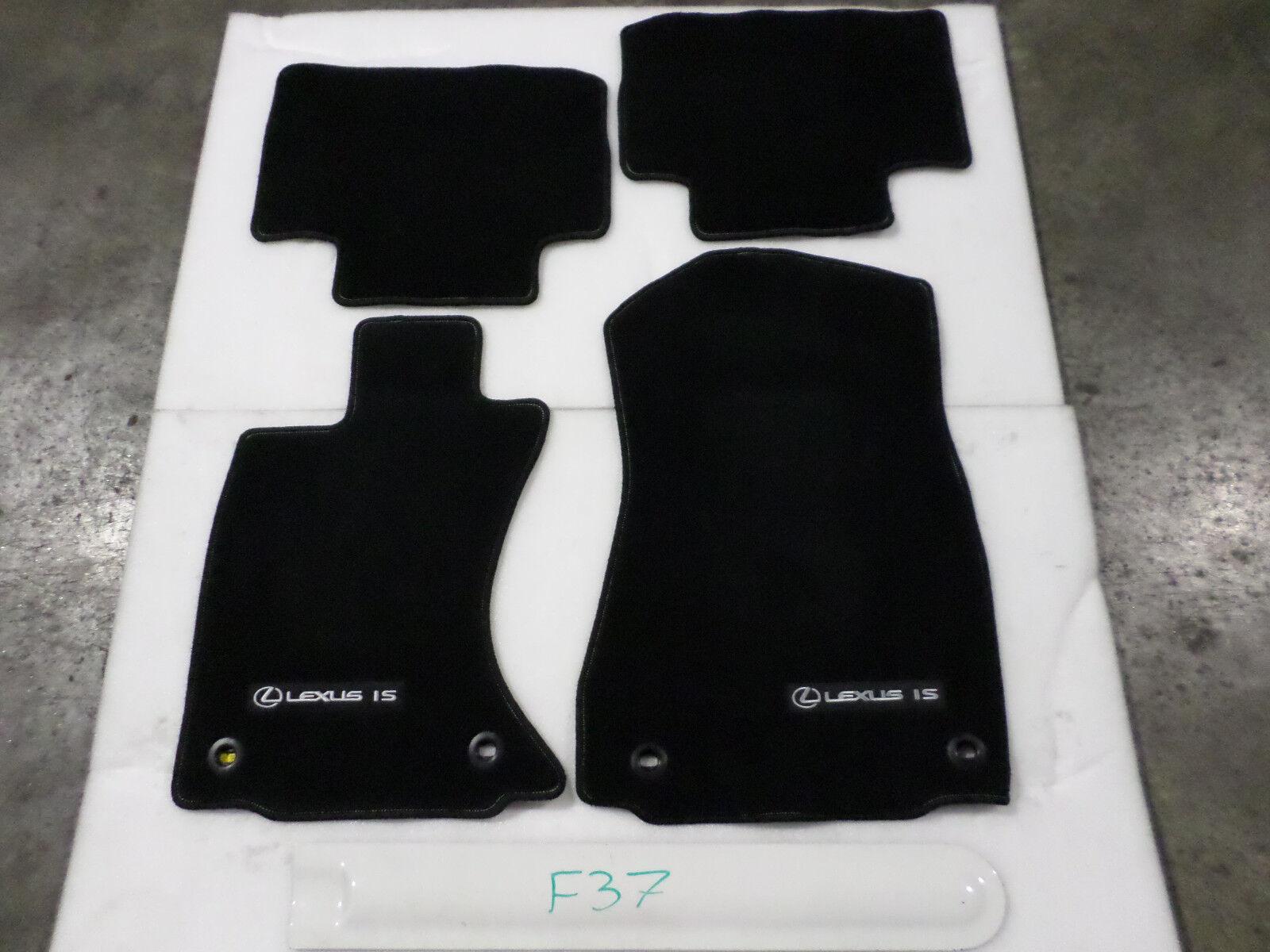 Weathertech floor mats lexus is250 - Floor Mats Set Lexus Is2150 Is2250 Awd F Sport Black Front Rear Oem 2014 2016 No Miles
