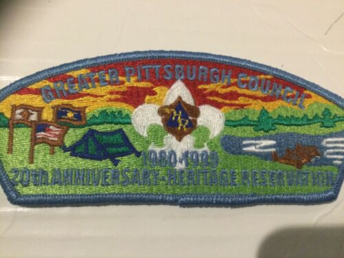 Greater Pittsburgh Council CSP SA-5 Camp Heritage 20th Anniversary 1999 SALE!!