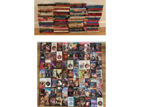 Lot of 77 Harlequin & Silhouette Paperback Romance Books FREE SHIPPING