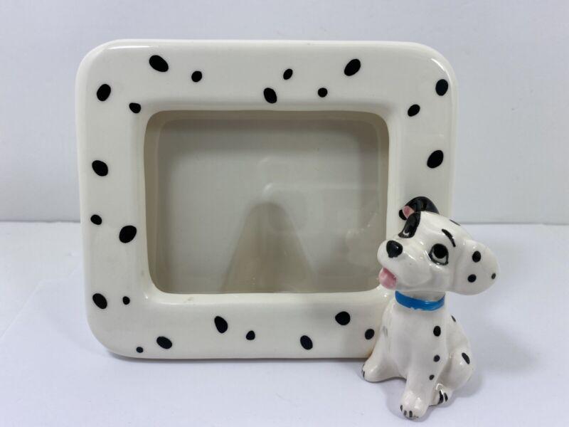 "Vintage DISNEY ""101 Dalmatians"" Picture Frame 5.5"" X 5"" Made In Japan"